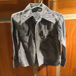 18-24 mo vintage jean shirt from 1973